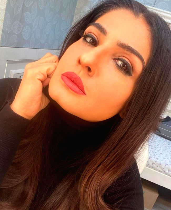 Raveena Tandon: Missing a bit of the red lipstick action