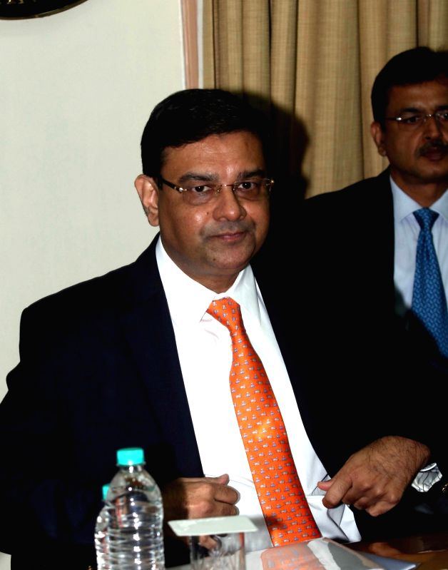 RBI Governor Urjit Patel addresses a press conference to announce the second bi-monthly monetary policy review of the fiscal, in Mumbai on June 7, 2017. - Urjit Patel