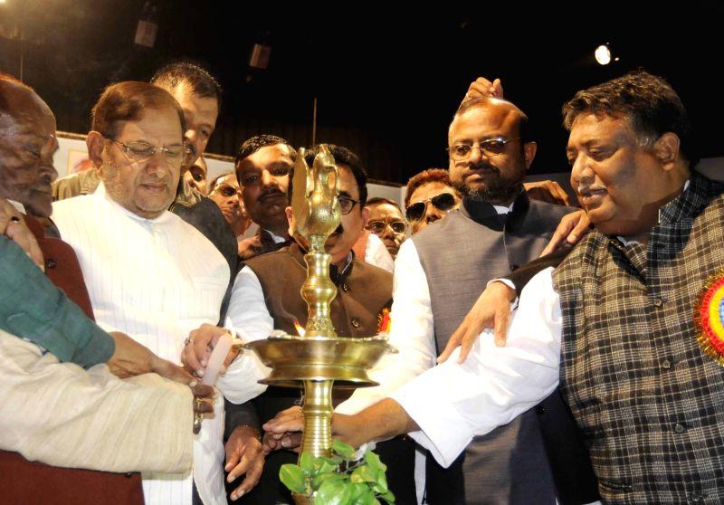Rebel JD(U) Sharad Yadav during a programme in Patna on Dec 1, 2017. - Sharad Yadav