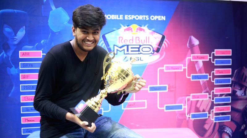 Red Bull MEO brings Clash Royale to DreamHack India 2019.
