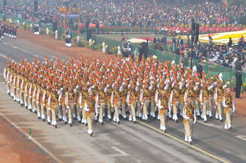Republic Day Parade underway on Rajpath in New Delhi