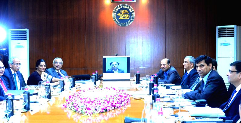 Reserve Bank of India Governor Raghuram G. Rajan at the RBI Central Board meeting, in Kolkata on Dec 11, 2015.