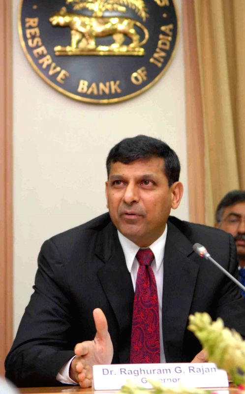 Reserve Bank of India (RBI) Governor Raghuram Rajan during a press conference in Mumbai on Aug 5, 2014.