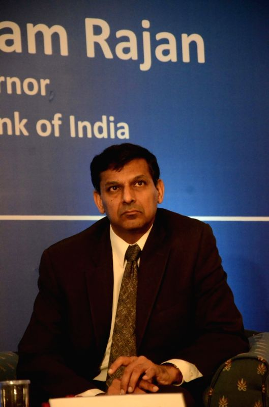 Reserve Bank of India (RBI) Governor Raghuram Rajan during CII's Singapore Symposium 2016 in Mumbai on April 7, 2016.