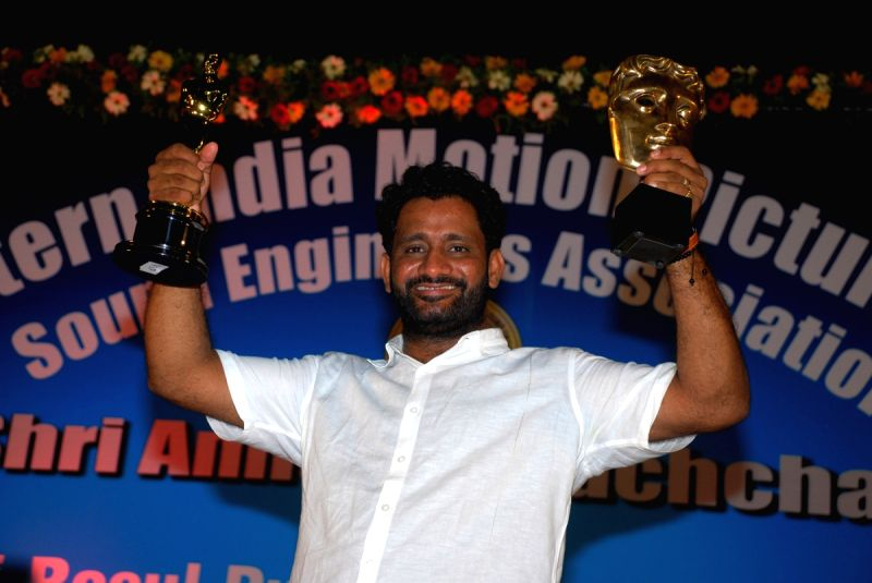 Resul Pukootty Is Ecstatic As He Displays All His Awards