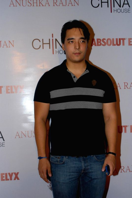 Rinzing Denzongpa, son of Danny Denzongp during the Absolut Elix and Anushka Ranjan fashion preview in Mumbai, on July 31, 2014.
