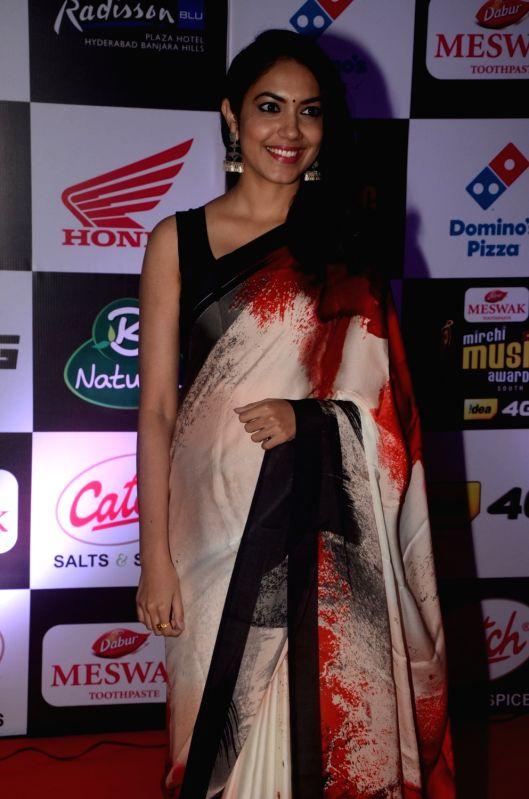 Ritu Varma at Mirchi Music Awards South 2016, on July 27, 2016.