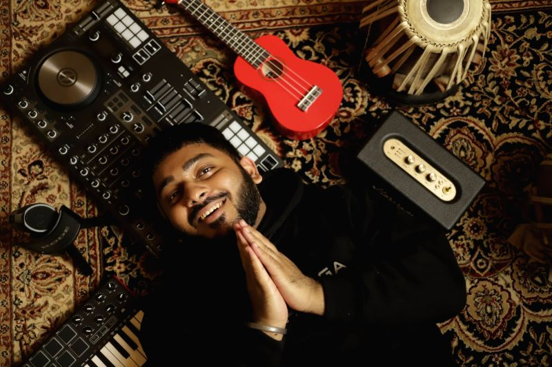 Ritviz plans to drop 21 songs before 2021 ends. (PHOTO CREDIT: Sahil Shikalgar)