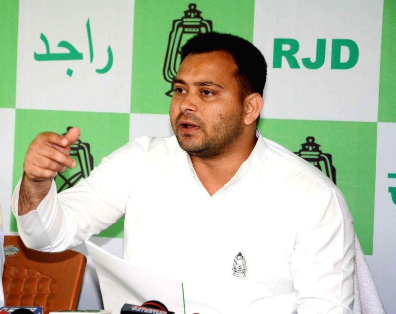 RJD leader Tejashwi Yadav. (File Photo: IANS)