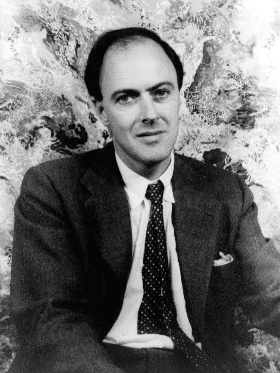 Roald Dahl.(photo:wikipedia.org)