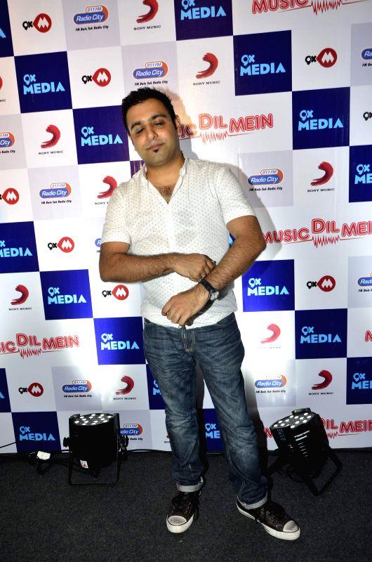 Rochak Kohli during the launch of music video `Music dil mein` composed by Rochak Kohli for the apt occasion of World Music Day in Mumbai on Friday, June 20, 2014. - Rochak Kohli