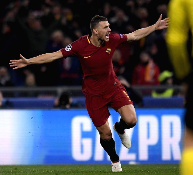 Champions League 4 Matchday Round Season 2018 2019: ITALY-ROME-SOCCER-CHAMPIONS LEAGUE-ROMA-SHAKHTAR DONETSK