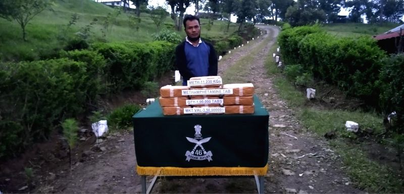 Rs 3.50 cr drugs smuggle from Myanmar seized in Mizoram.