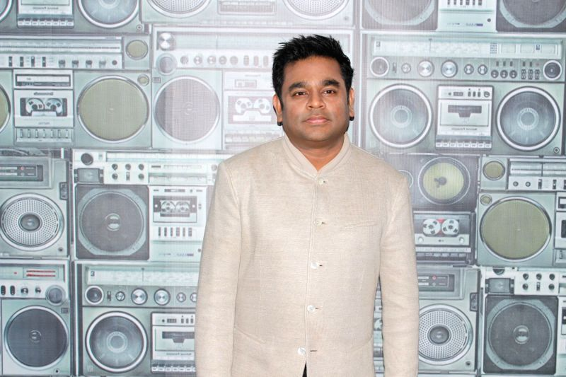 Sa Re Ga Ma Pa Li'l Champs Celebrate Mom's Day With A. R. Rahman in Mumbai on May 9, 2017.