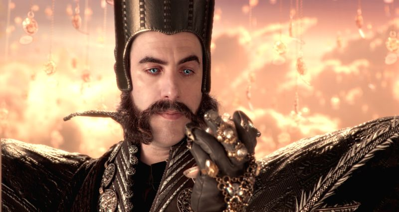 Sacha Baron Cohen as Time in Alice Through The Looking Glass.