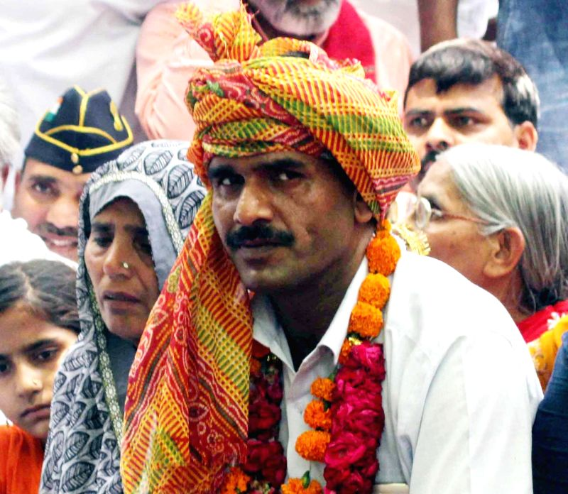 Sacked Border Security Force trooper Tej Bahadur Yadav. (File Photo: IANS) - Tej Bahadur Yadav