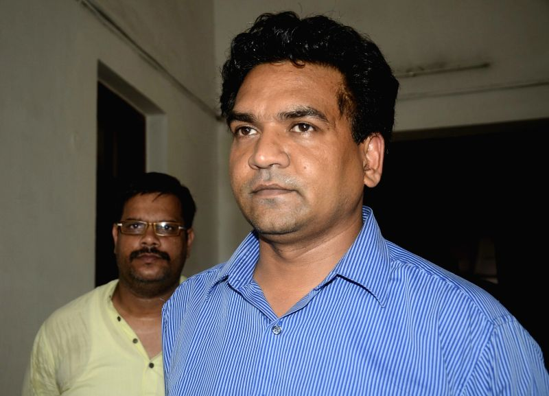 Sacked Minister Kapil Mishra at Delhi legislative assembly on July 3, 2017.