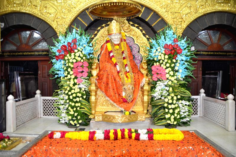 Saibaba in Shirdi.