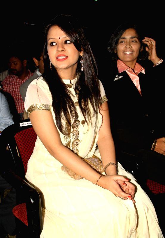 Felicitation function - MS Dhoni