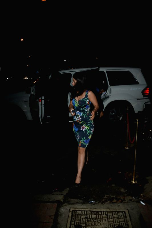 Sakshi Dhoni, wife of Indian cricketer MS Dhoni seen at Mumbai's Bandra on Aug 2, 2018. - MS Dhoni