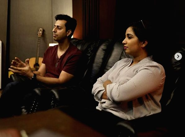 Salim Merchant, Shreya Ghoshal 'excited' for their new song.