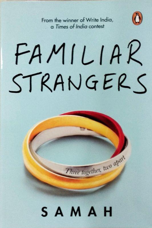 """Samah's book """"Familiar Strangers""""."""