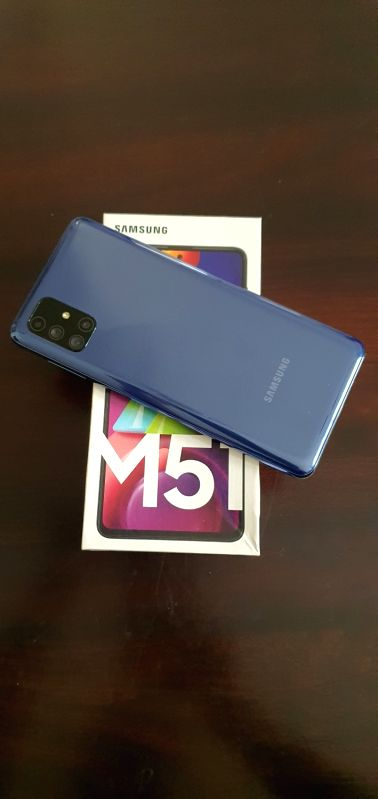 Samsung Galaxy M51: Forget power banks, keep the charger away.