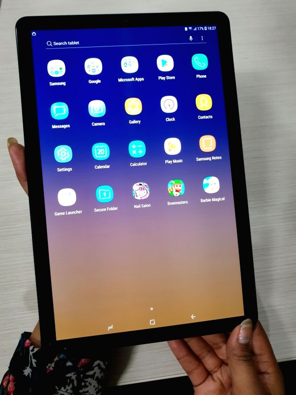 :Samsung has brought out the Galaxy Tab S4 in India which, at Rs 57,900, is packed with rich featuresboth for the workaholic and the lazy soul..