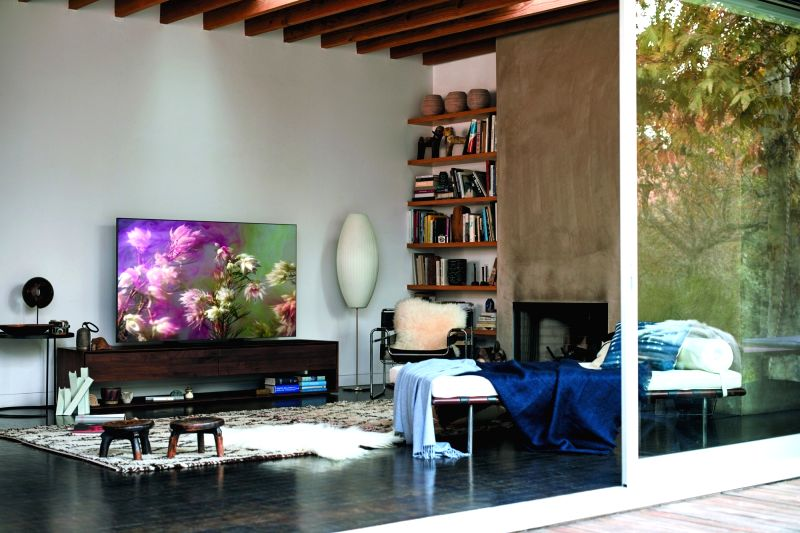 Samsung QLED TV series.