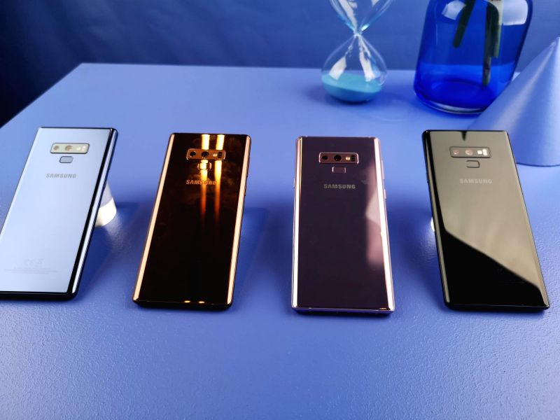 Samsung's flagship Galaxy Note 9.