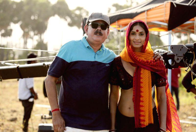 Sandhya Shetty with Priyadarshan - Sandhya Shetty