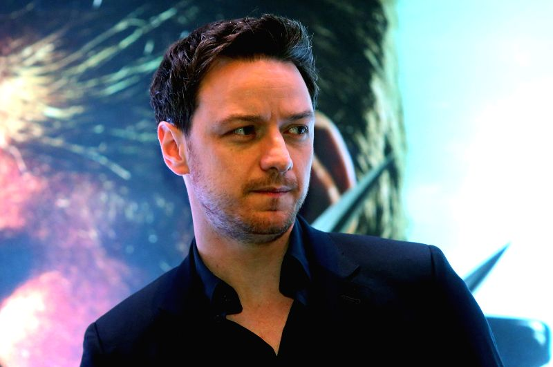 "Scottish actor James McAvoy attends a press conference to promote the movie ""X-Men: Days of Future Past"", in Sao Paulo, Brazil, on May 14, 2014. - James M"