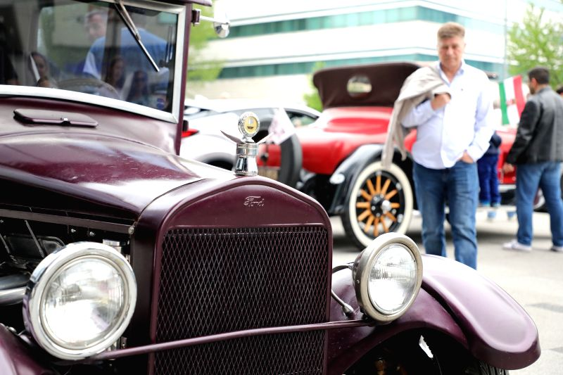 SARAJEVO, May 6, 2017 - Vintage cars are seen during the 15th International Old-timers Show in Sarajevo, Bosnia and Herzegovina, on May 6, 2017. About 50 vintage cars with owners from seven countries ...