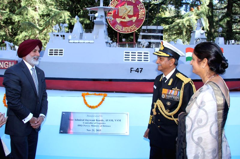 'Sardar Madan Singh' warship unveiled at Dalhousie school