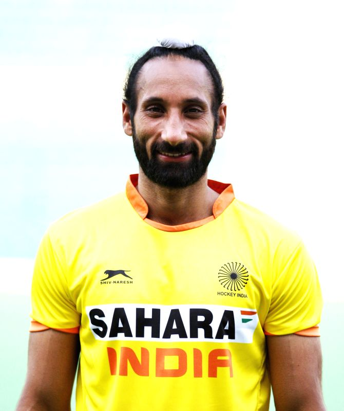 Sardar Singh who was selected in the Indian Men Hockey Team for upcoming Hockey World Cup 2014 which is scheduled to begin on 31st May 2014 in The Hague, Netherlands. - Sardar Singh