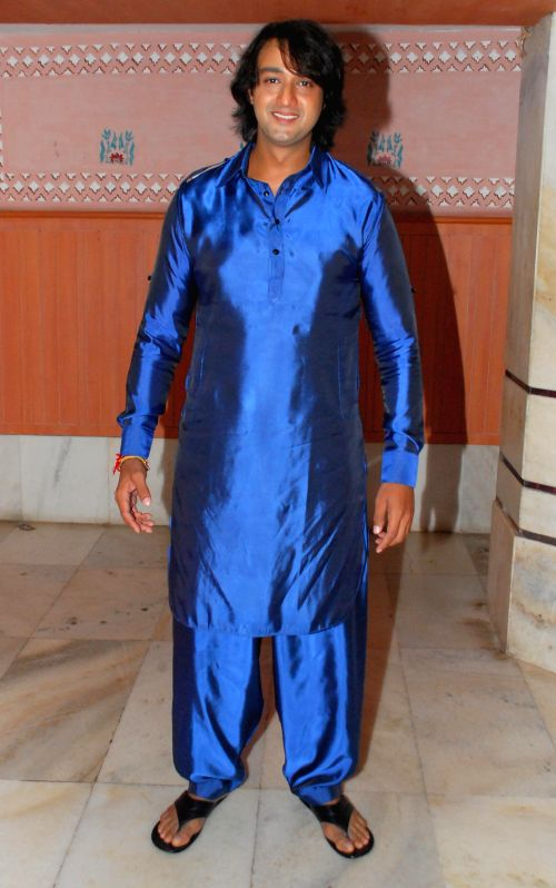 Saurabh Raaj Jain during the album launch of Bhakti Vandana in Mumbai, on August 12, 2014. - Saurabh Raaj Jain