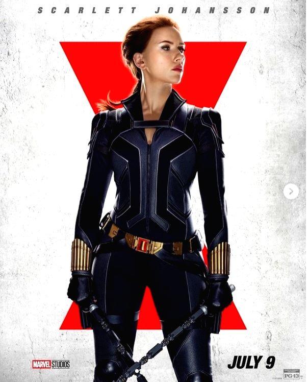 Scarlett Johansson: Black Widow has moved away from hyper-sexualisation. PHOTO CREDIT: BLACK WIDOW / INSTAGRAM
