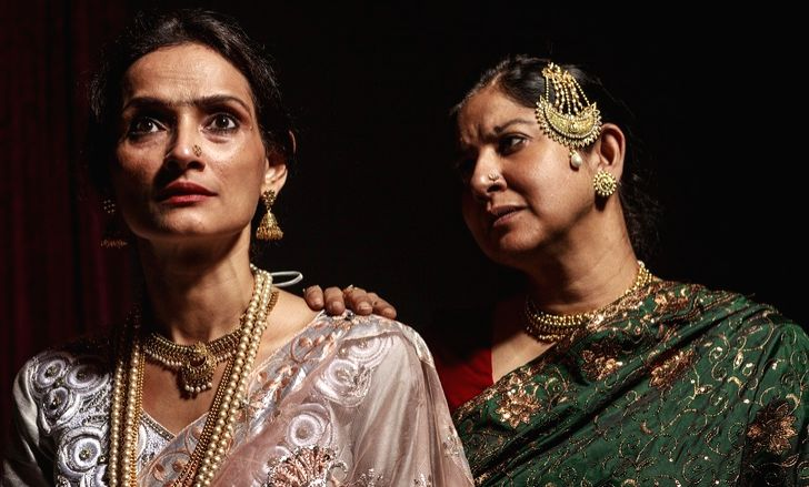 """Scene from """"Gauhar"""""""