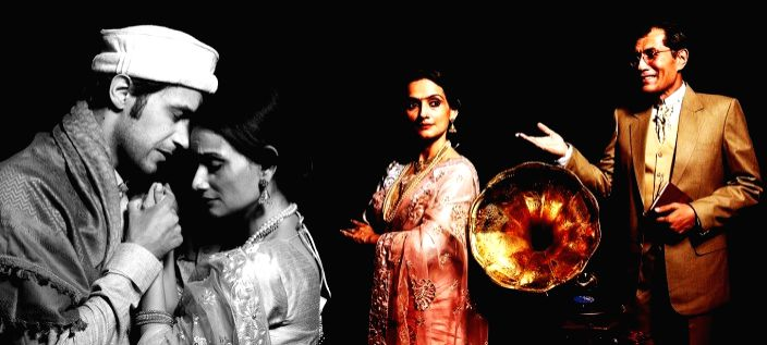 "Scenes from ""Gauhar"""