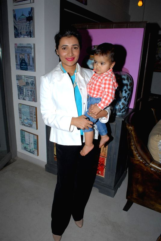 Schauna Chauhan Saluja, CEO, Parle Agro Pvt Ltd during the preview of the latest Flower Power Collection at The White Window store in Mumbai, on July 31, 2014. - Schauna Chauhan Saluja