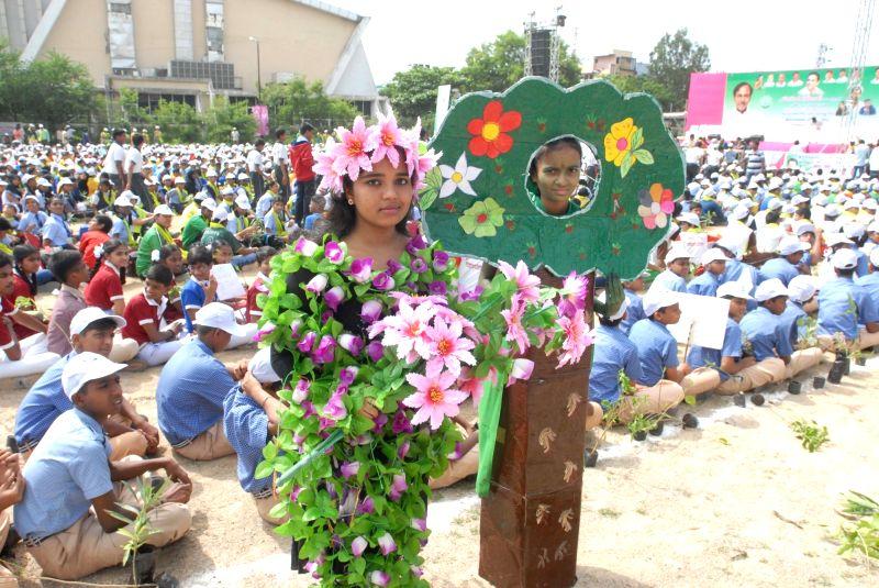 Tree plantation drive - Rana Daggubati