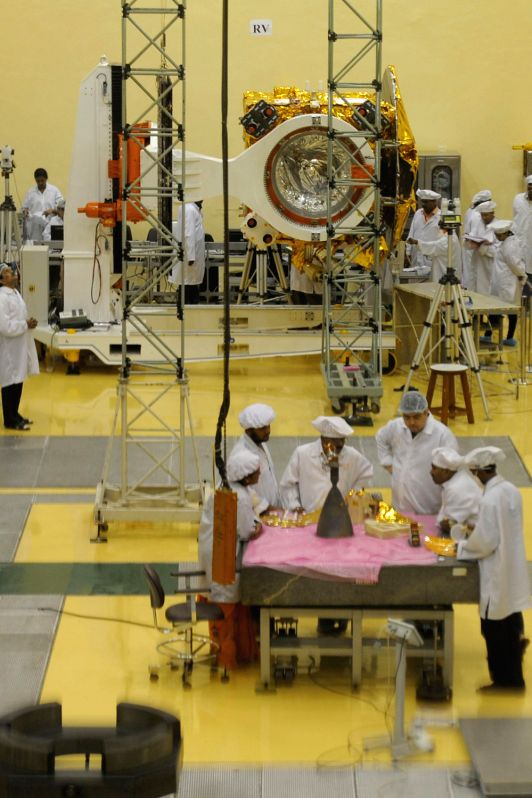 """Mars Orbiter Mission"" at the ISRO"