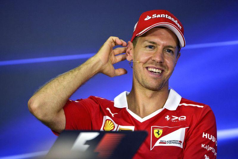 Vettel tops table on 1st day of F1 pre-season testing