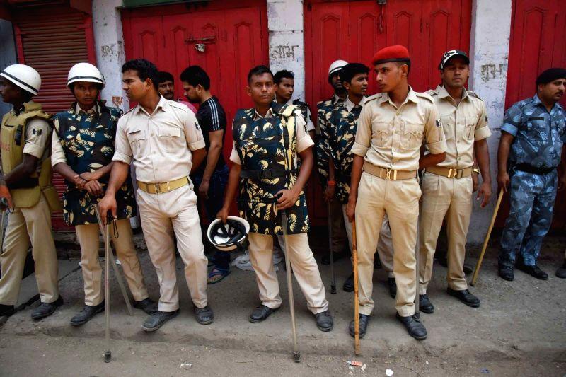 Security beefed-up in Gaya after Aditya Sachdeva, son of a businessman was allegedly shot dead by Rocky Yadav son of JD-U MLC Manorma Devi and Bindi Yadav, a criminal turned politician in Gaya, ... - Bindi Yadav