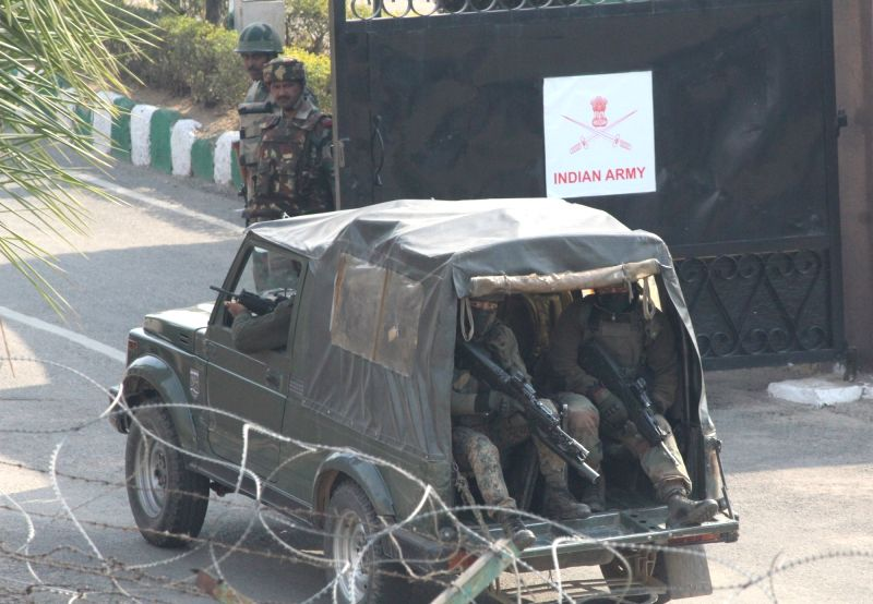 Militants attack Indian army camp in Jammu