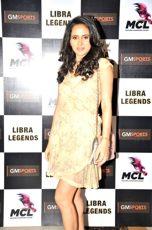 Sejal Mandavia at the launch of Libra Legends Masters Champions League (MCL) team in Mumbai on Nov  30, 2015