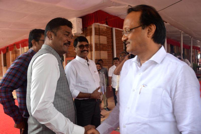 Senior NCP leader and MLA Ajit Pawar at Maharashtra Assembly, in Nagpur, on July 13, 2018.