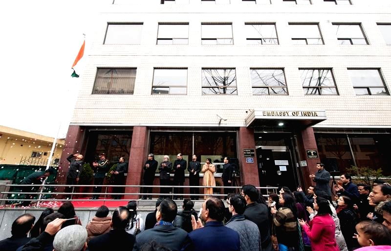 Republic Day celebrations at the Indian embassy in Seoul, South Korea on Jan 26, 2015.