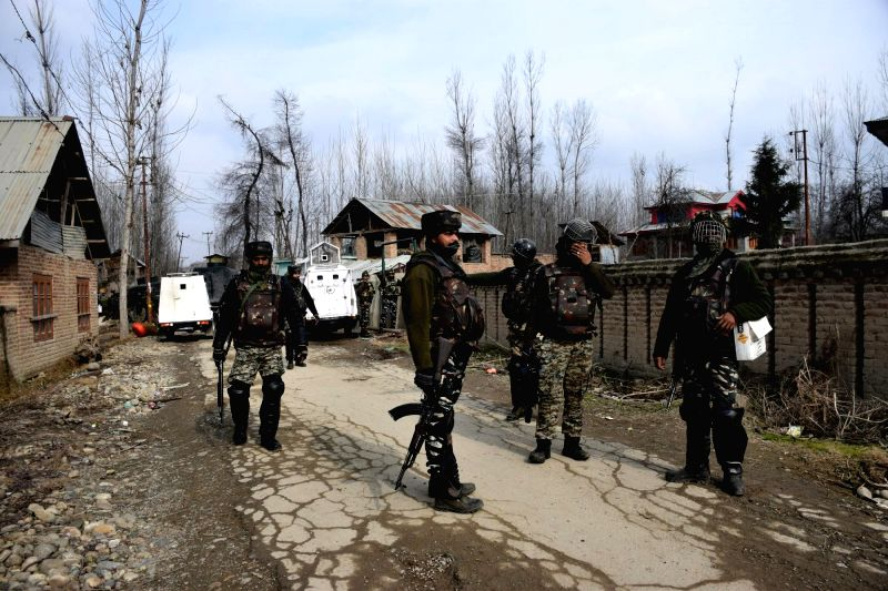 Seventeen students were injured on Wednesday in a mysterious explosion inside a tuition centre in Jammu and Kashmir's Pulwama district, triggering clashes between civilians and security personnel. (Photo: IANS)