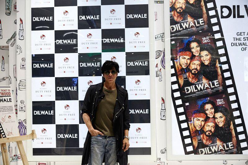 Shah Rukh Khan at Mumbai Duty Free - Rukh Khan